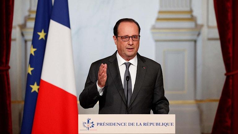 Franrikes president François Hollande.