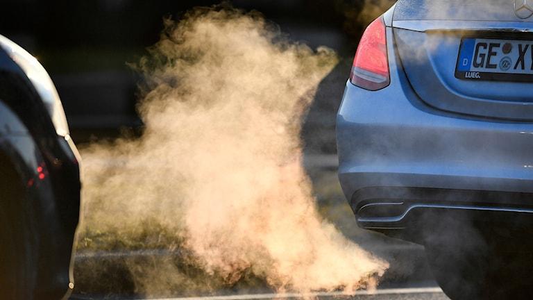 Utsläpp från dieselbil