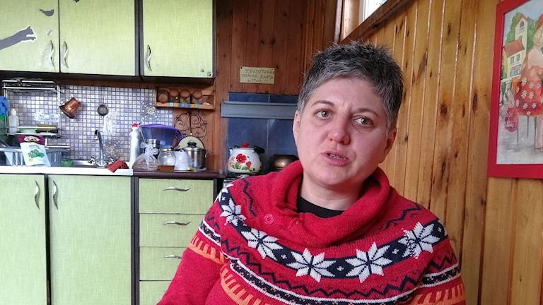 Olga är miljöaktivist I Sotji och kämpar mot planerad olje utvinning i havet.