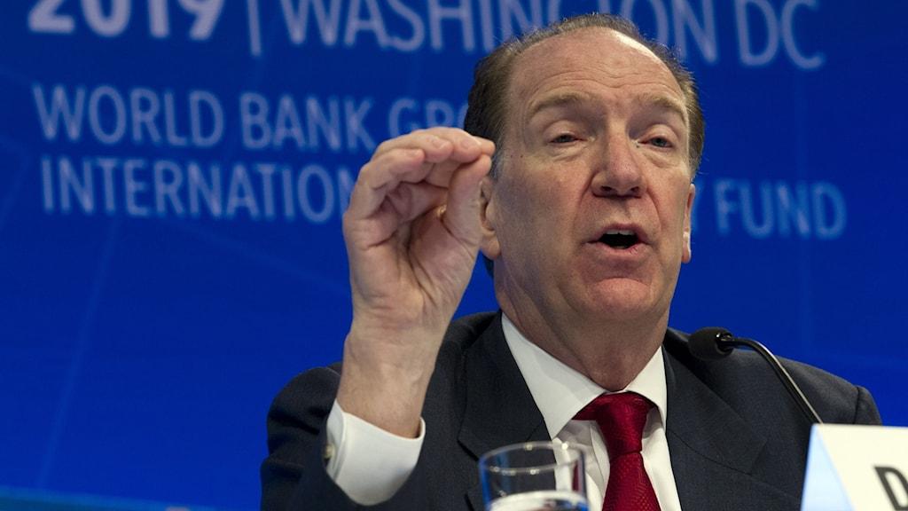 Världsbankschefen David Malpass
