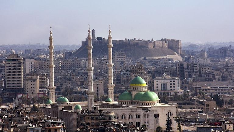 Aleppo i Syrien.