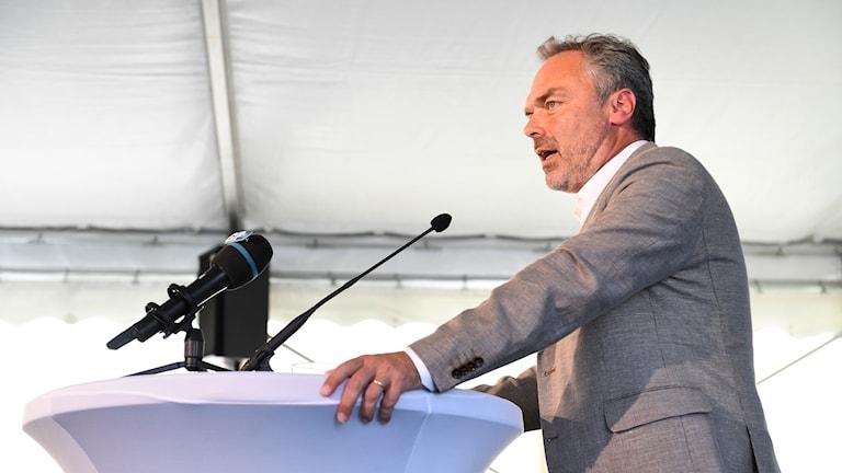 Jan Björklund, liberalernas partiledare.