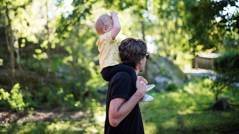 barn, pappaledig