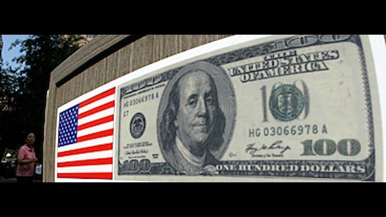 Är dollarns tid förbi? En brittisk tidning hävdar att flera länder haft hemliga möten om att ersätta dollarn som världsvaluta. Arkivfoto: Scanpix.