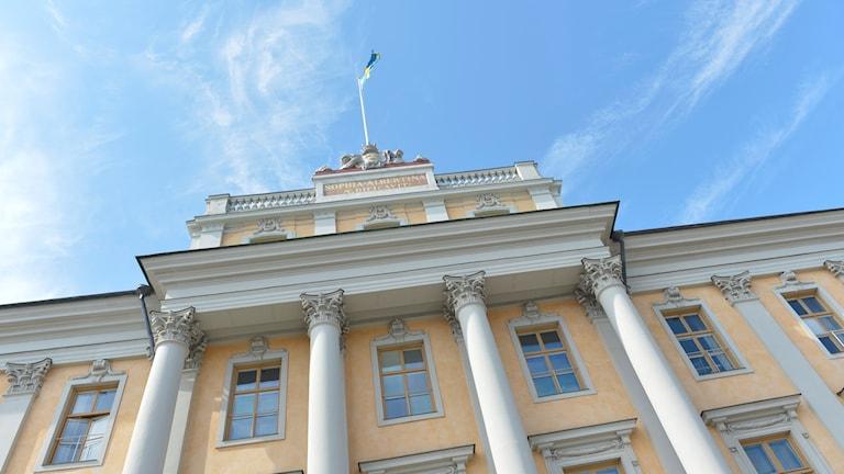 UD, utrikesdepartementet vid Gustaf Adolfs torg.