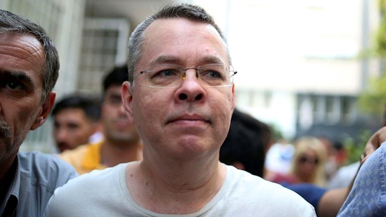 Nu är den amerikanske pastorn Andrew Brunson fri att lämna Turkiet.