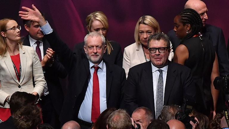 Jeremy Corbin, brittiska Labourpartiets ledare.