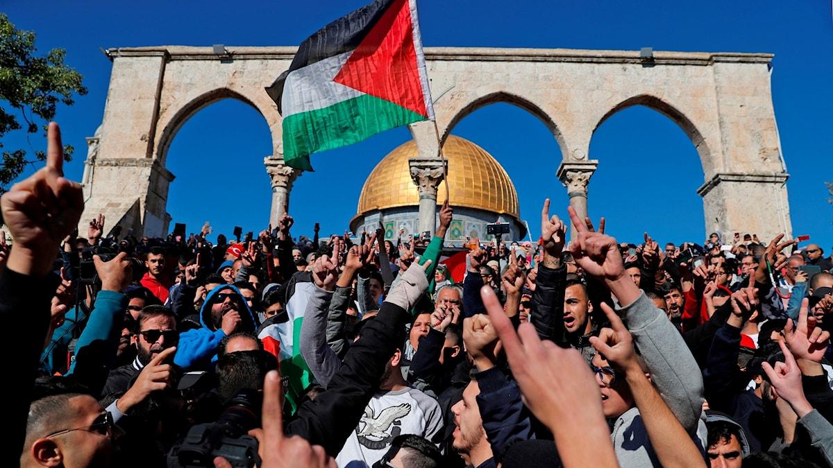 Demonstranter, Jerusalem