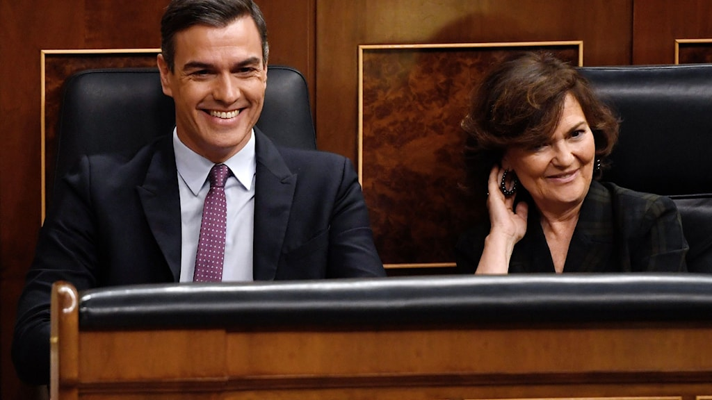 Ny spansk regering.