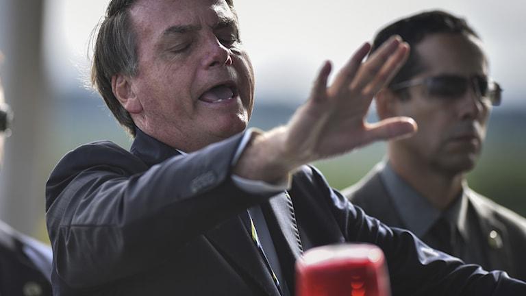 Brasiliens president Jail Bolsonaro.