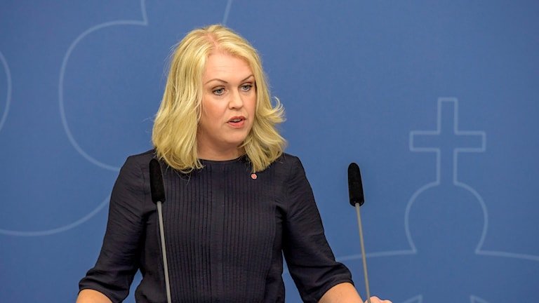 Barn-, äldre- och jämställdhetsminister Lena Hallengren (S).