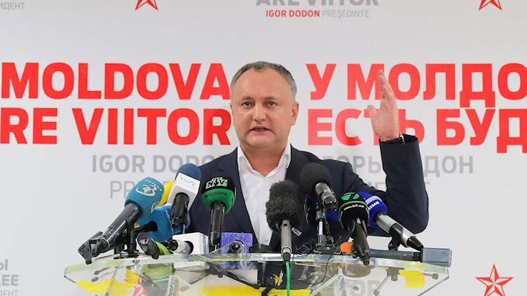 Moldaviens nye president Igor Dodon.