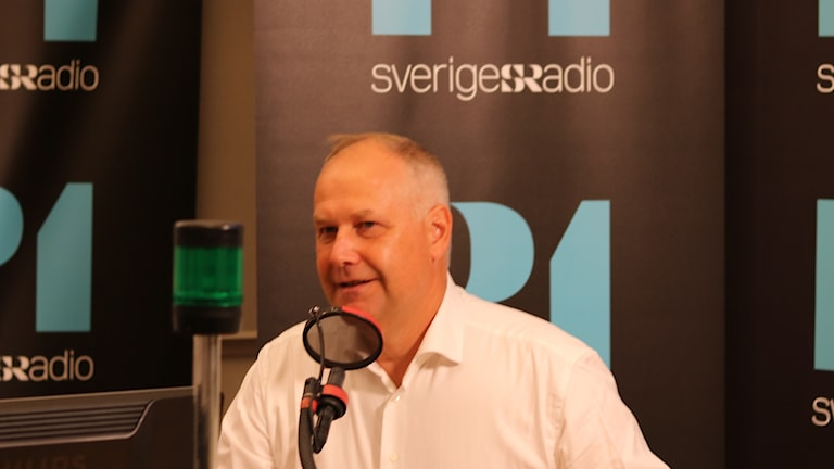 Jonas Sjöstedt under Ekots partiledarutfrågning.