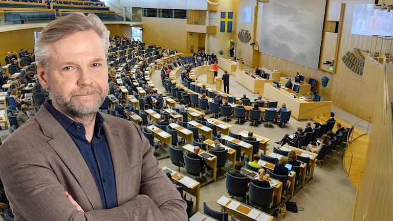 Ekots inrikespolitiske kommentator Tomas Ramberg .
