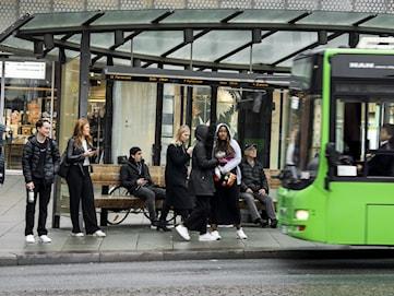 Fler överfulla bussar i Uppsala - trots nya allmänna råd