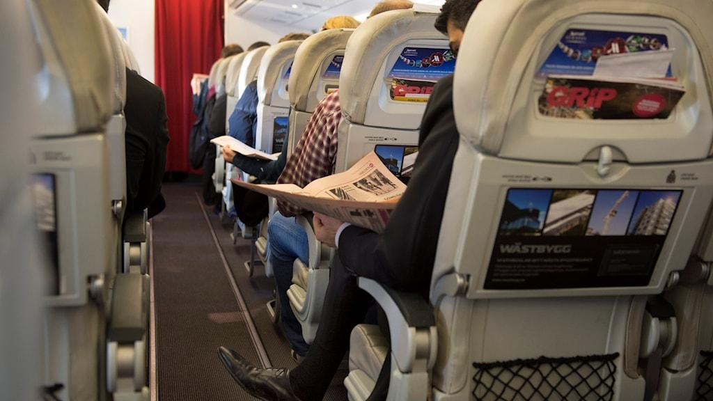 Minskat benutrymme på flygplan kan stoppas i USA.