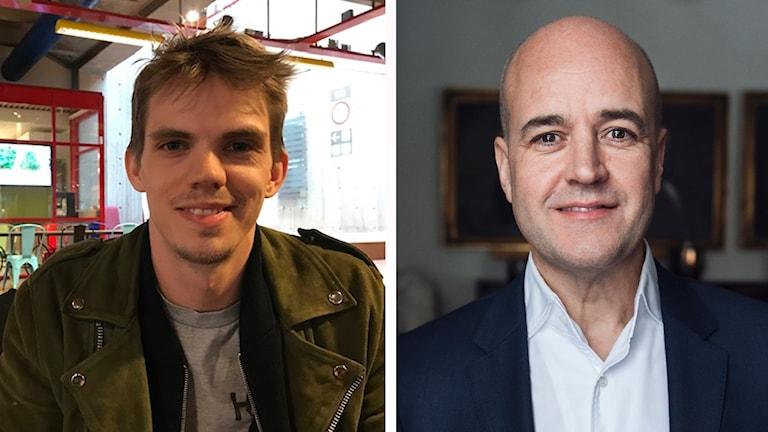 Före detta yrkesmilitär Martin Bergman och den förre moderatledaren och statsministern Fredrik Reinfeldt.