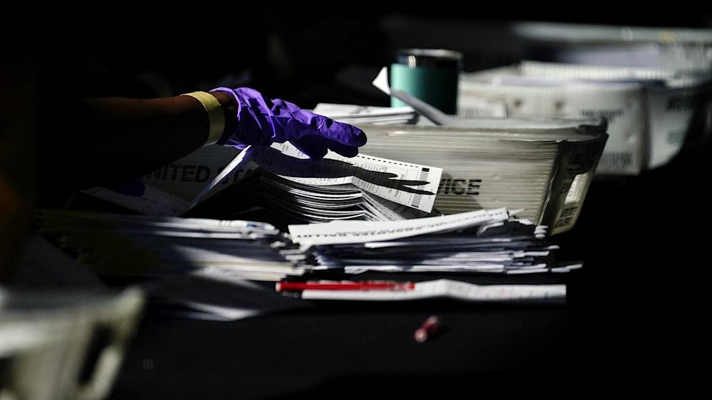 Georgia, rösträkning