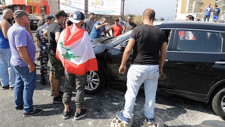 Libanon protester
