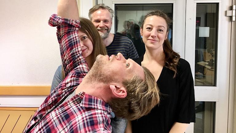 Henrik Torehammar, Maggie Strömberg, Tomas Ramberg och My Rohwedder.