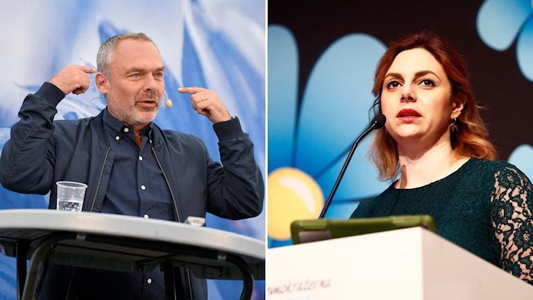 Jan Björklund och Paula Bieler