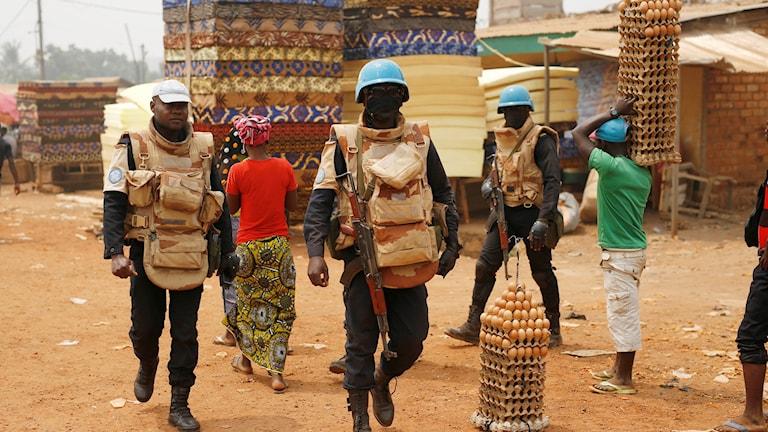 Fredsbevarande FN-styrkor i Bangui, Centralafrikanska republiken