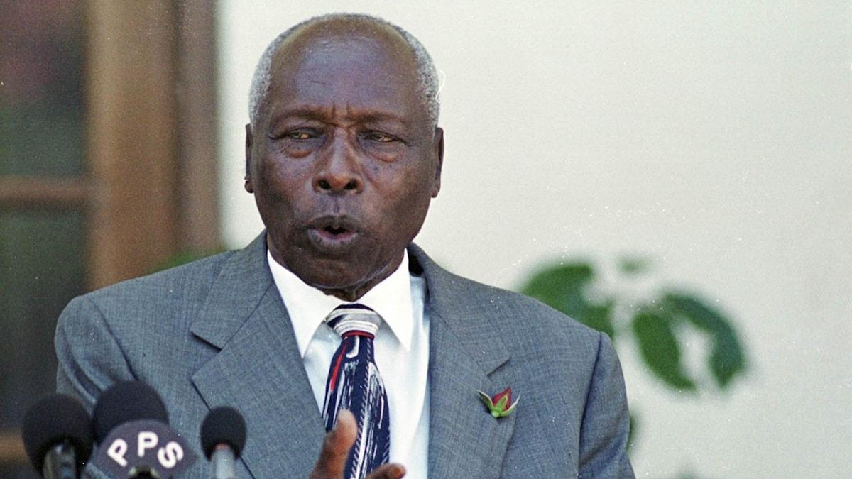 Kenyas tidigare president Daniel arap Moi.