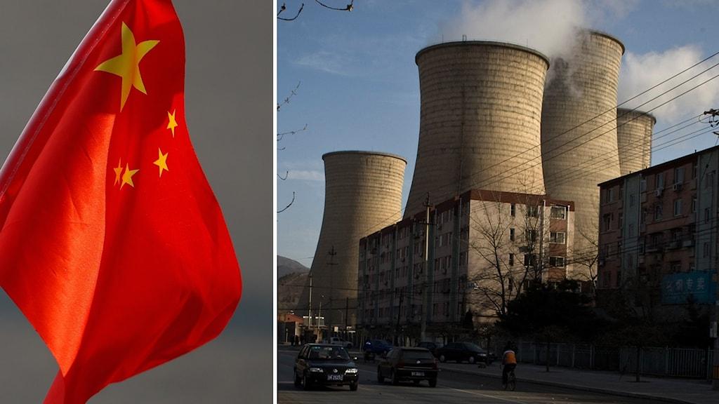 Kina väntas uppföra nya kolkraftverk med en kapacitet som motsvarar nästan hela EU:s kolkapacitet.