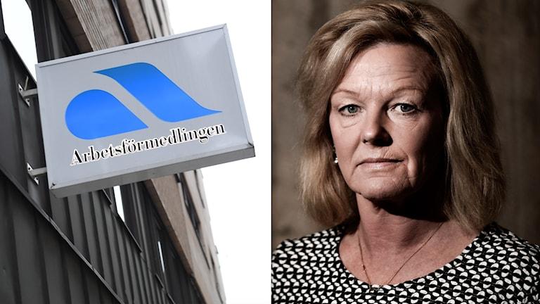 Arbetsförmedlingen utredare Cecilia Fahlberg