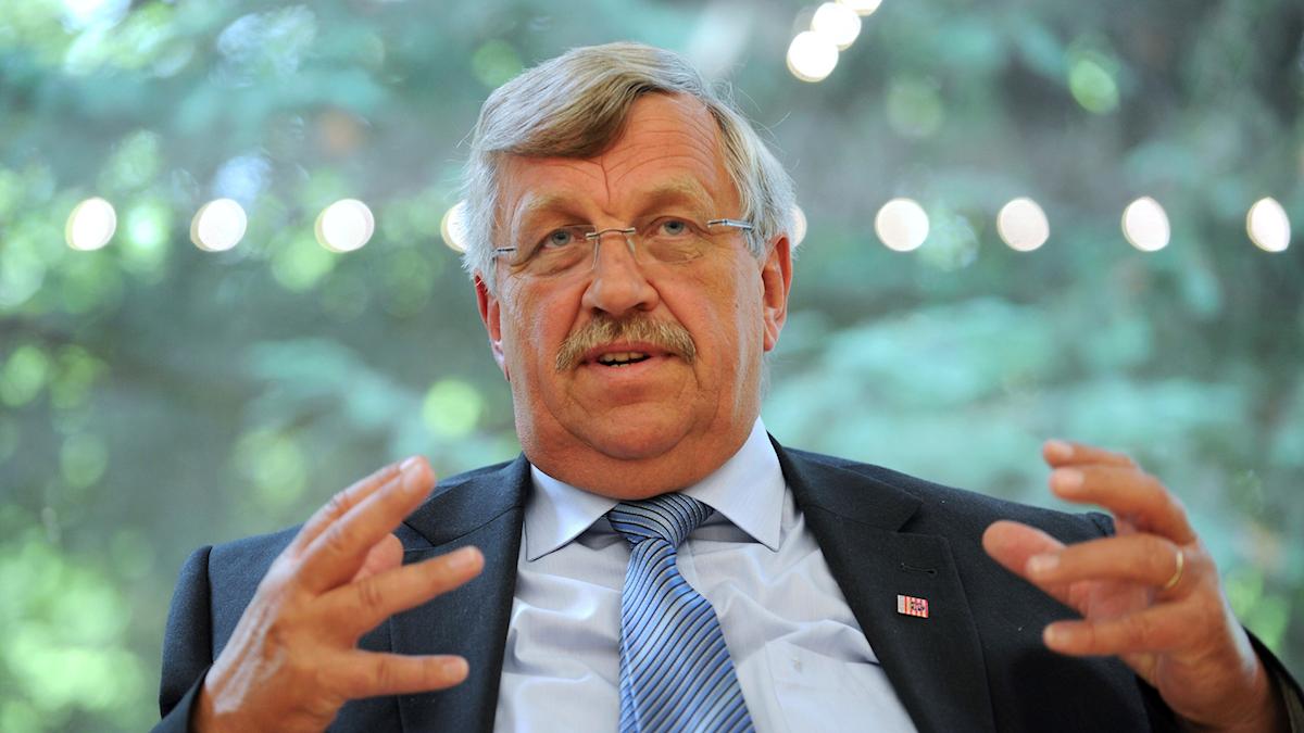 Walter Lübcke, tysk politiker, mördades för en månad sedan.