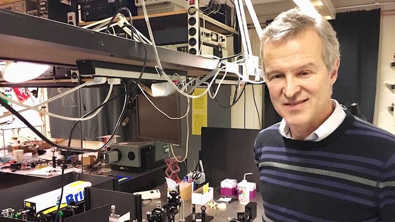 Lars Berglund, professor i träkompositer vid KTH