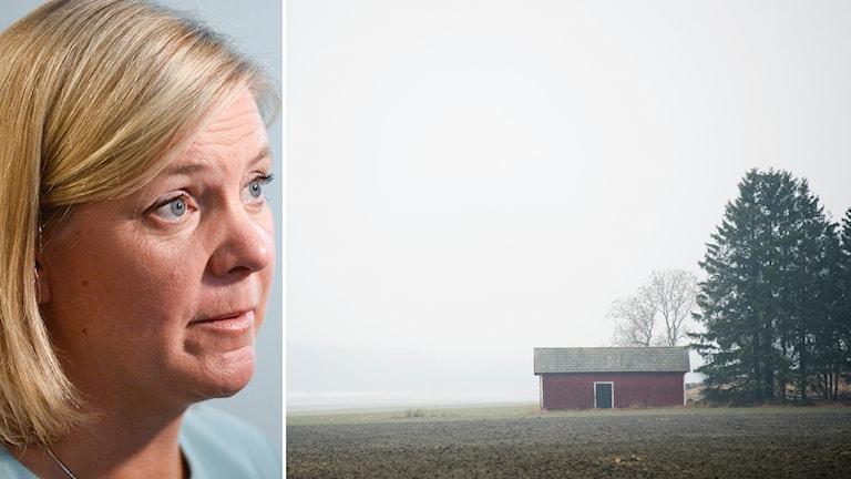 Regeringen på landsbygden säger Magdalena Andersson