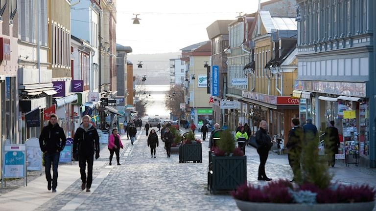 Storgatan i Örnsköldsvik.