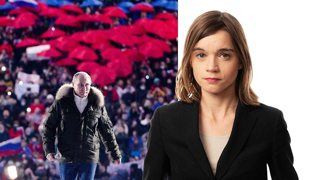 Putin och Johanna Melén