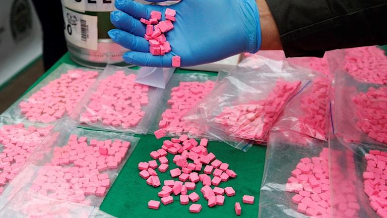 MDMA. Arkivbild.
