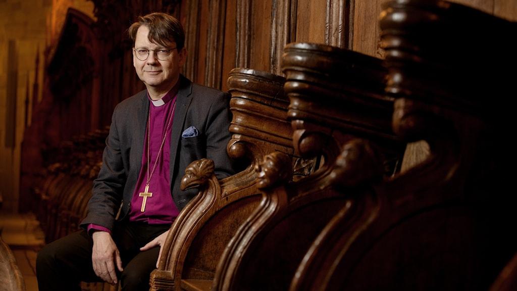 Johan Tyrberg , biskop i Lunds stift.