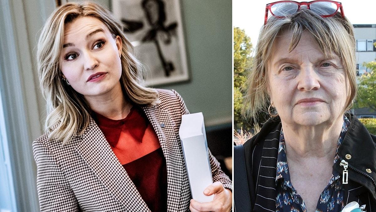 Ebba Busch Thor och Statsvetaren Marja Lemne.
