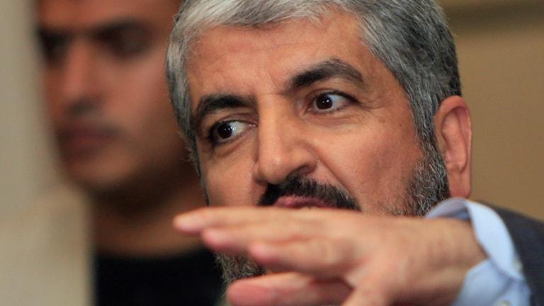 Högsta ledare för Hamas Khaled Meshal.