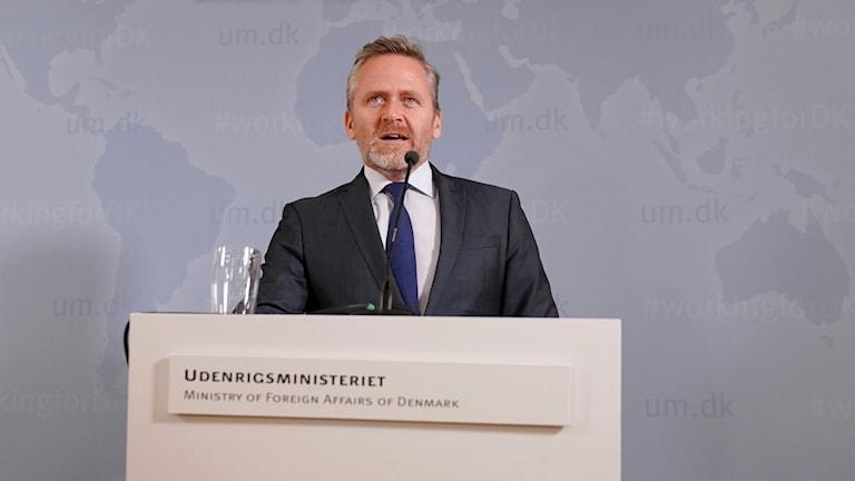 Danmarks utrikesminister Anders Samuelsen.