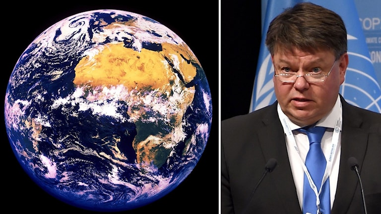 Petter Taalas, generalsekreterare i WMO.