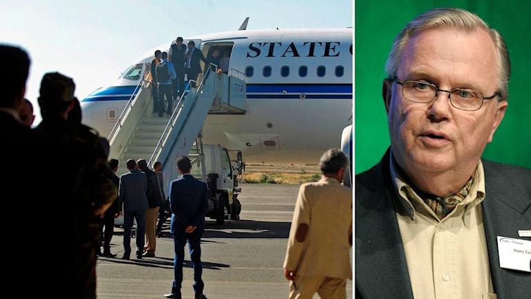 Hans Corell, före detta rättschef i FN om fredssamtal mellan parterna i kriget i Jemen