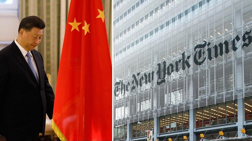 President Xi Jinping och New York Times