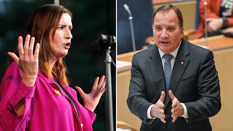 Birgitta Ohlsson kritiserar Löfvens resa till Saudiarabien