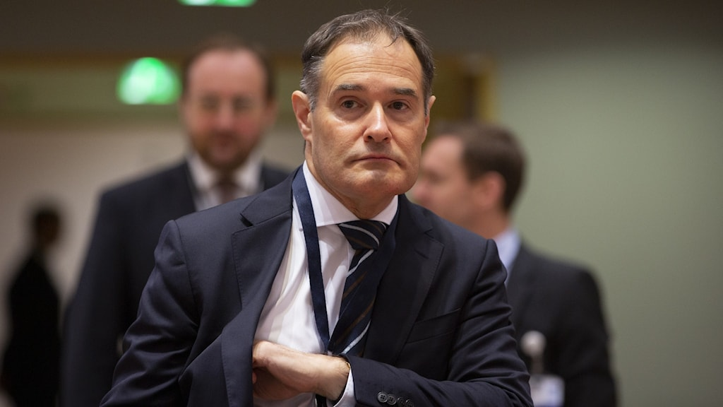 Fabrice Leggeri, chef för Frontex.