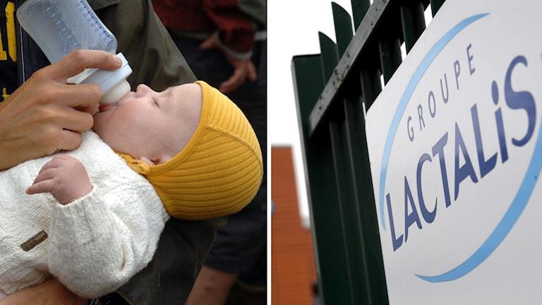 Sammanlagt har ett 30-tal barn i Frankrike insjuknat efter att ha druckit mjölk gjort på pulver som kom från fabriken i Creon.