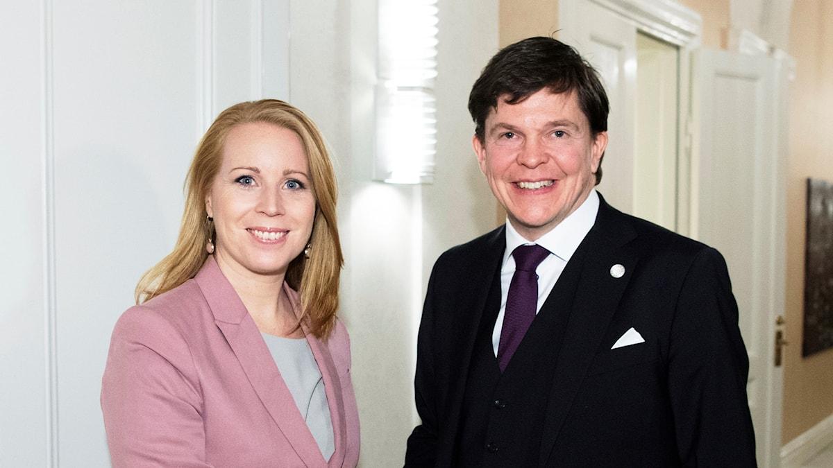 Annie Lööf, Andreas Norlén