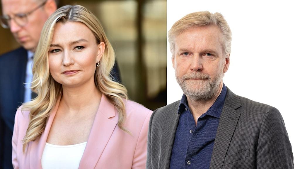 Ebba Busch och Tomas Ramberg.