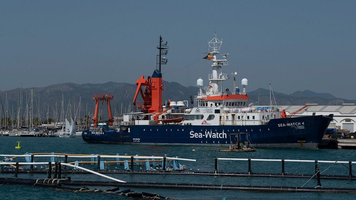 Räddningsfartyget Sea-Watch