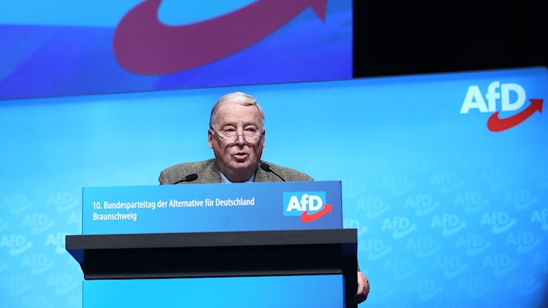 78-årige Alexander Gauland, nuvarande partiledare AfD.