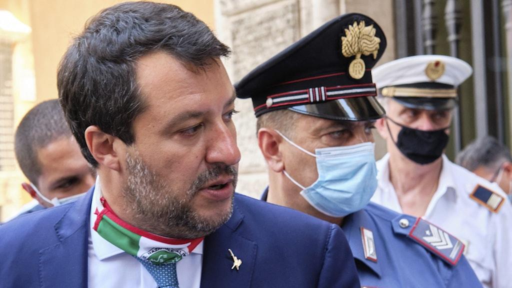 Italiens tidigare inrikesminister Matteo Salvini
